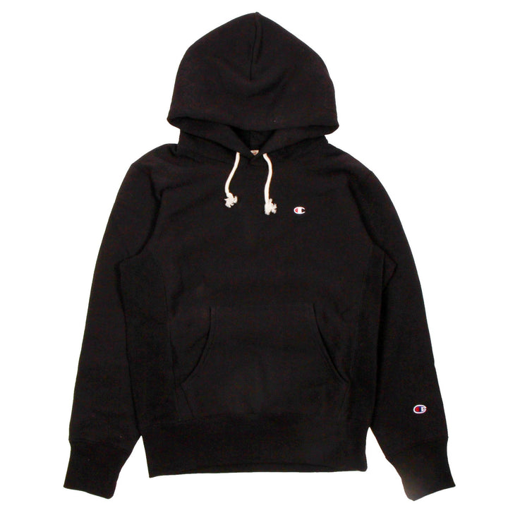 Champion Europe Rev Weave Hoodie Black - Pict Clothing