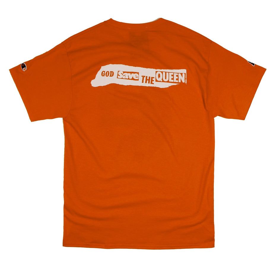 For The Homies Queen B Tee Orange - Pict Clothing