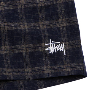 Stussy Two Steps Check Short Navy