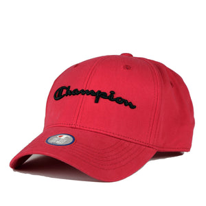 Champion Classic Twill Hat Team Red Scarlet - Pict Clothing