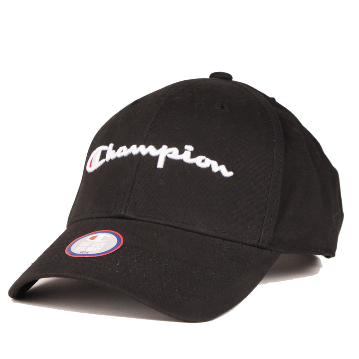 Champion Classic Twill Hat Black - Pict Clothing