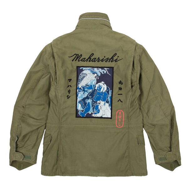 Maharishi Upcycled US Army M65 Jacket - Pict Clothing
