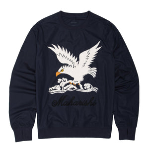 Maharishi maha Eagle Woven Track Top - Pict Clothing