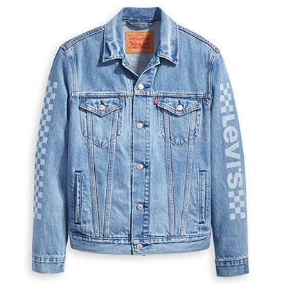 Levis The Trucker Jacket Motorcross Legend - Pict Clothing