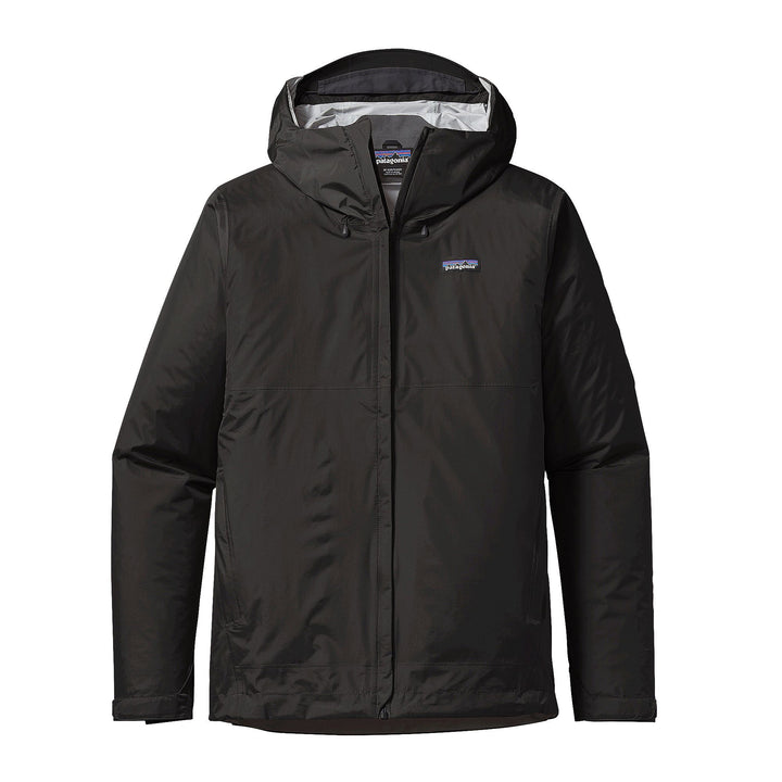 Patagonia Torrentshell Jacket Black - Pict Clothing