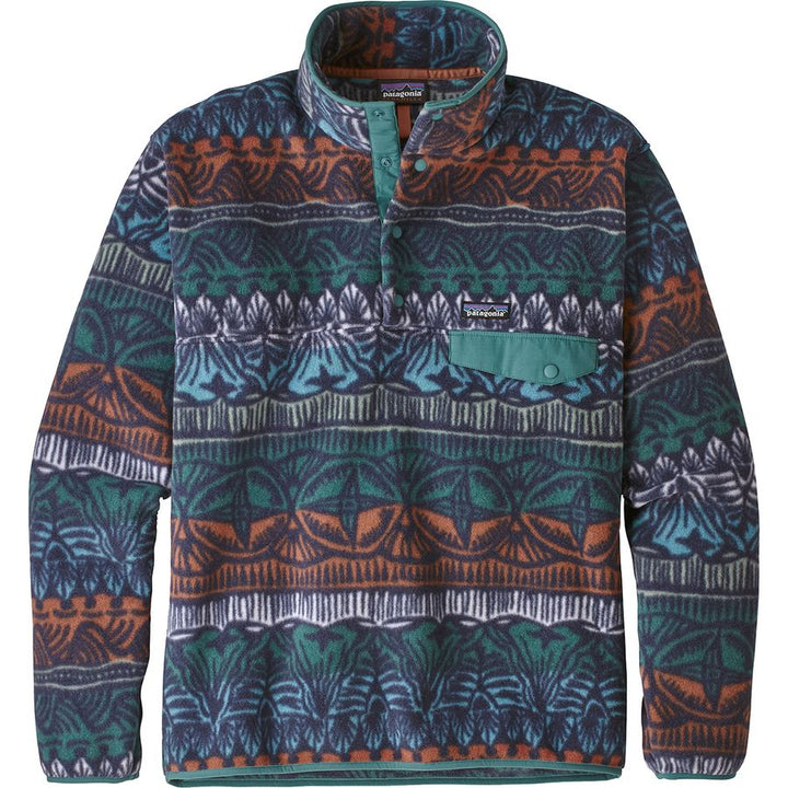 Patagonia LW Synch Snap-T P/O Stone Blue - Pict Clothing