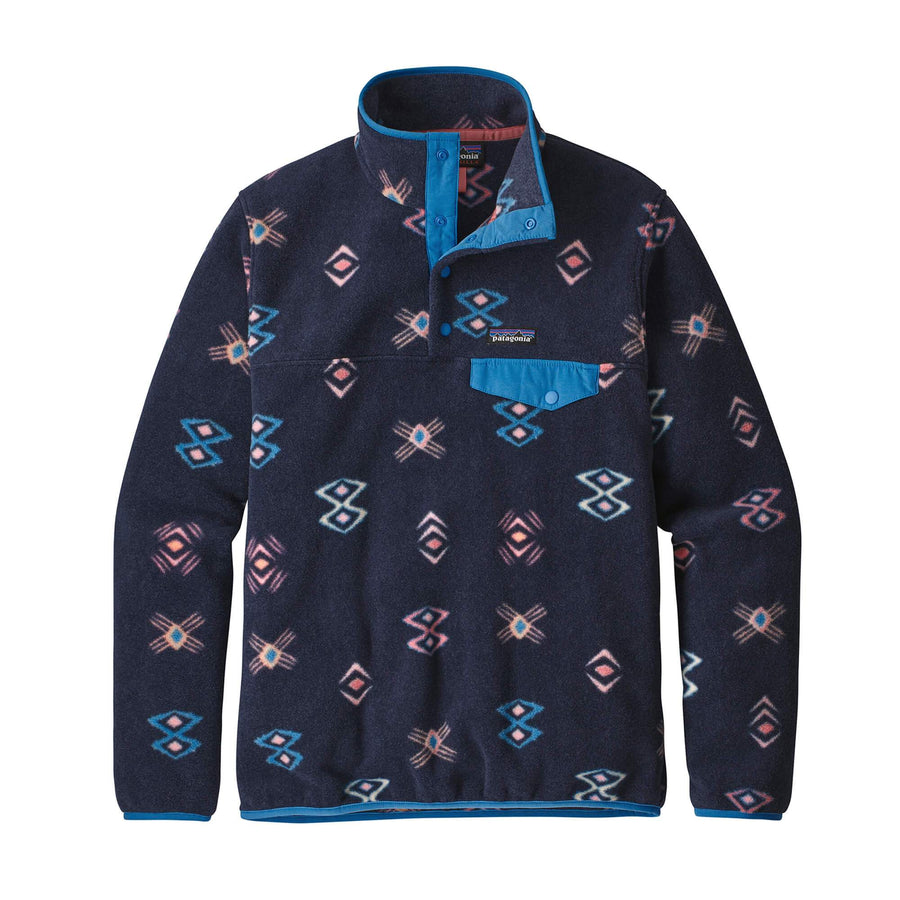 Patagonia Womens LW Synch Snap-T P/O Neo Navy - Pict Clothing