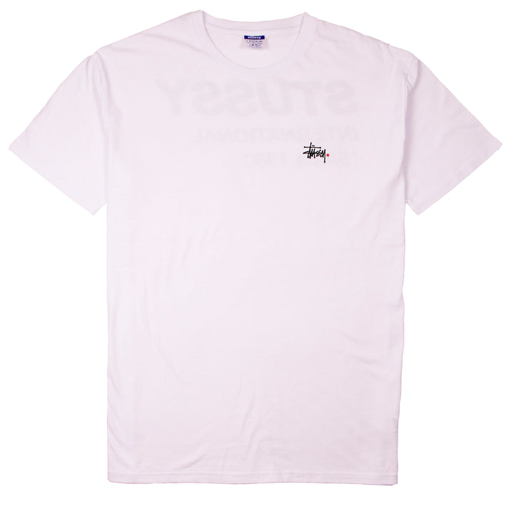 Stussy Since 1980 SS Tee White - Pict Clothing