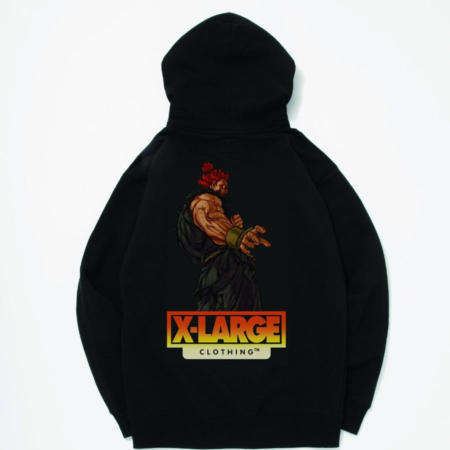 X Large x Street Fighter Akuma Hoodie - Pict Clothing