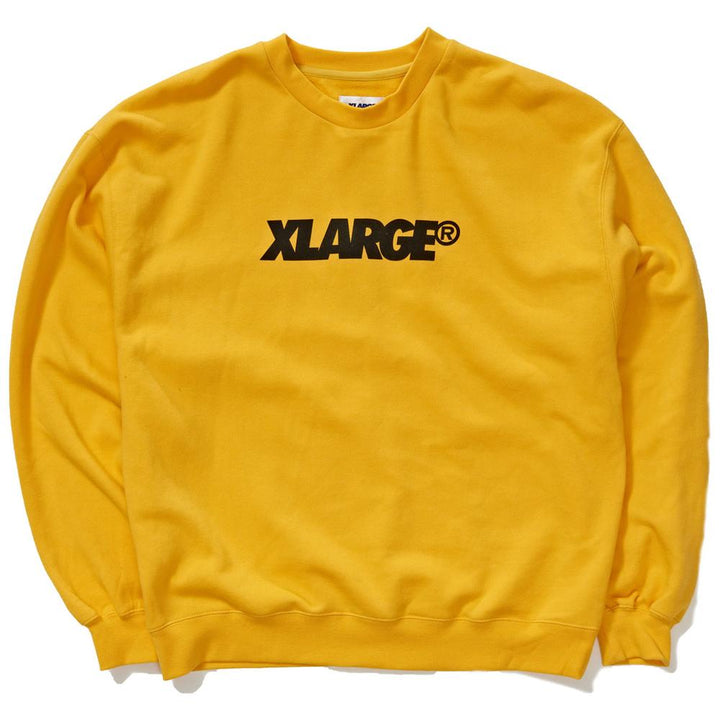 X Large XL Text Crew Gold
