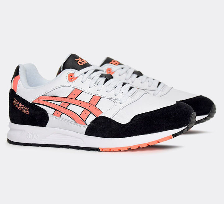 Asics Gel Saga White/Sun Coral - Pict Clothing