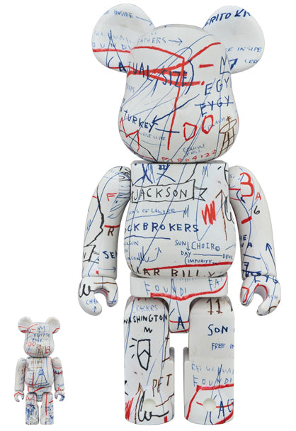 BE@RBRICK Basquiat V2 400% + 100% Set - Pict Clothing