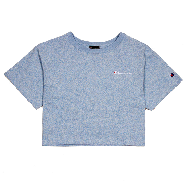 Champion Cropped Tee Active Blue - Pict Clothing