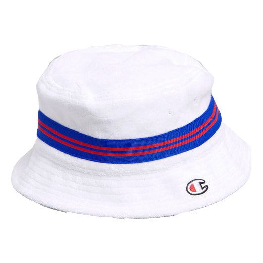 Champion Reverse Weave Bucket Hat White - Pict Clothing