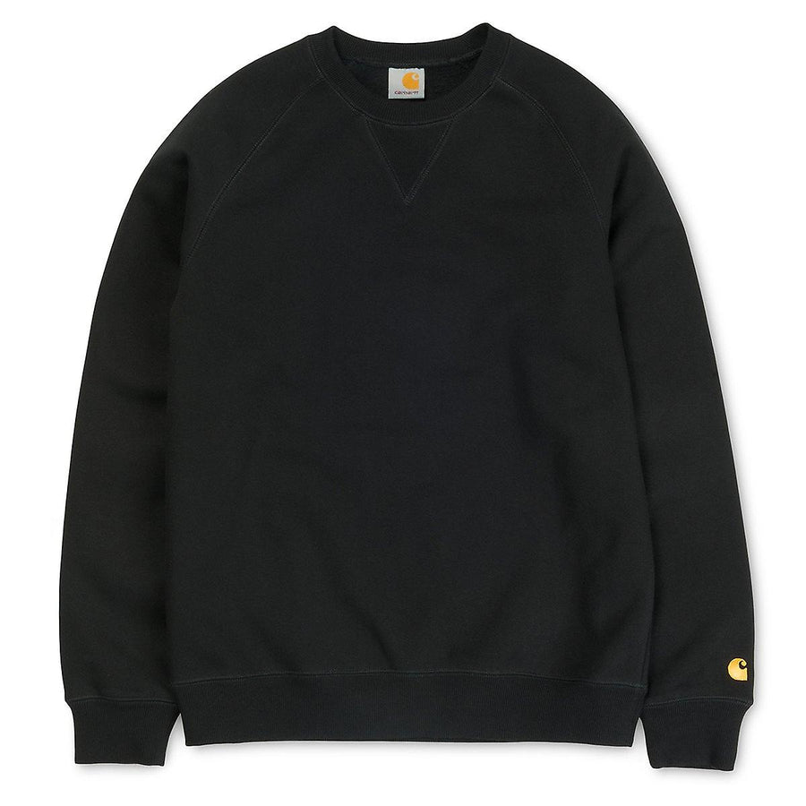 Carhartt Chase Sweatshirt Black - Pict Clothing