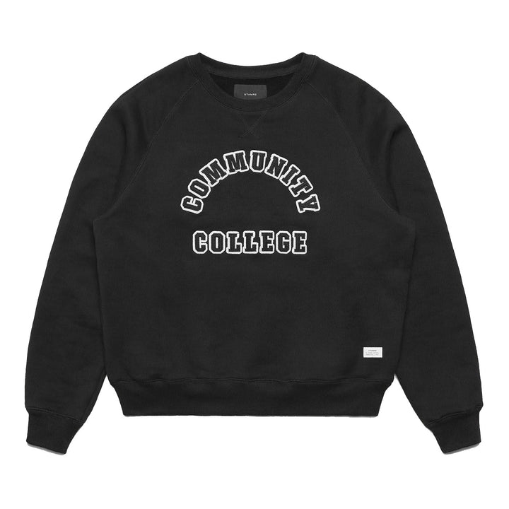 Stampd Collegiate Crew Vintage Black - Pict Clothing