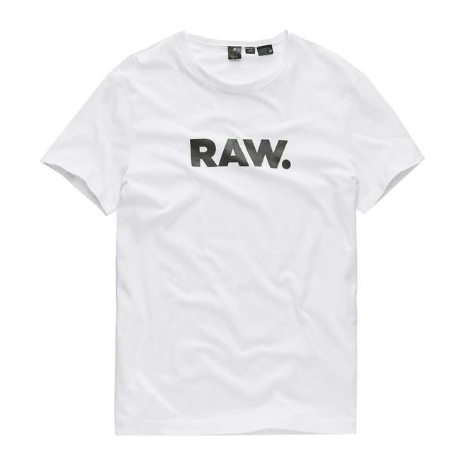 G-Star Raw Horlon S/S Tee White - Pict Clothing