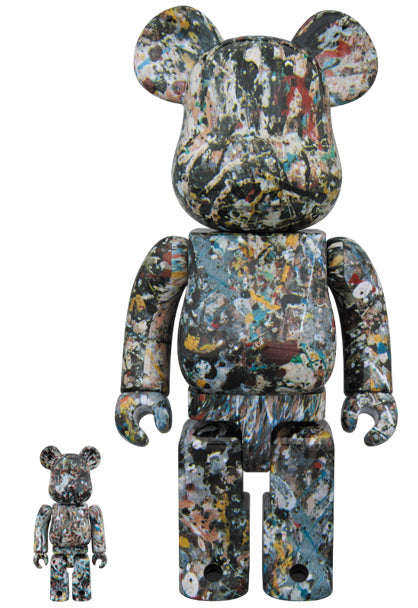 BE@RBRICK Jason Pollock V2 100%+400% Set - Pict Clothing