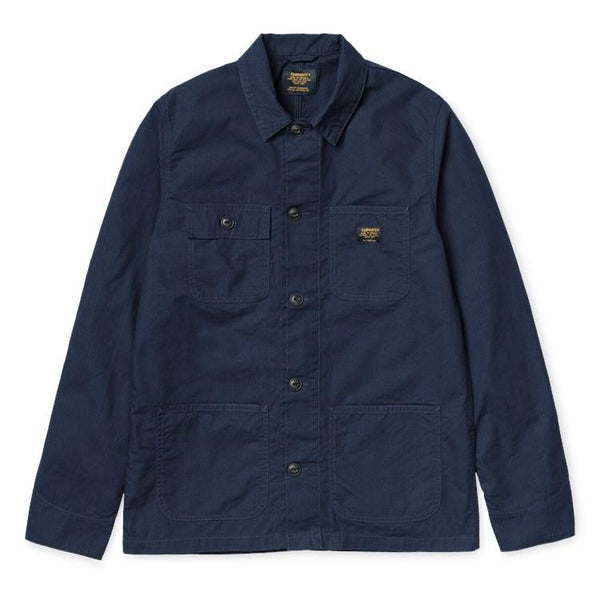 Carhartt Michigan Shirt Jac Dark Navy Rinsed