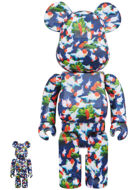 BE@RBRICK Mika Ninagawa Goldfish 100%+400% Set - Pict Clothing
