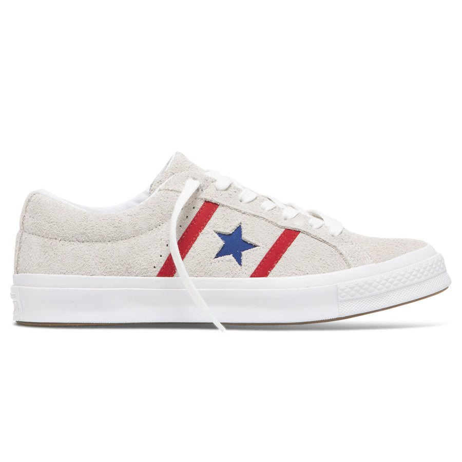 Converse One Star Academy Red/Blue/White - Pict Clothing