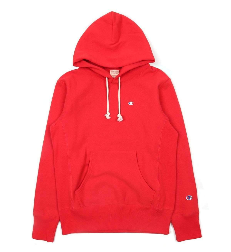 Champion Europe Rev Weave Hoodie Maroon - Pict Clothing