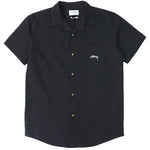 Stussy Authentic Ss Resort Shirt Black