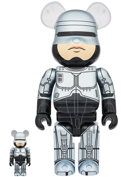BE@RBRICK Robocop 100%+400% Set - Pict Clothing