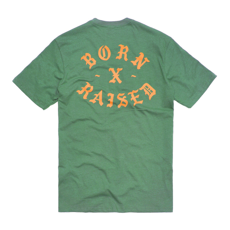 Born x Raised Rocker Tee Jade - Pict Clothing