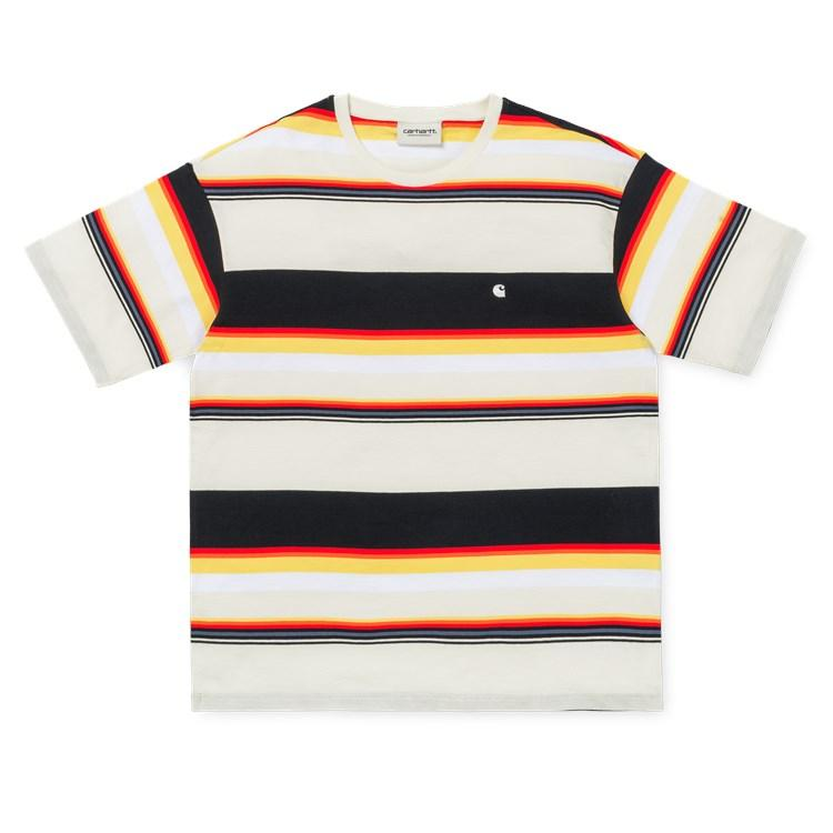 Carhartt SS Sunder Tee Wax/White - Pict Clothing
