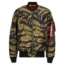 Alpha MA-1 Coalition Blood Chit Tiger Camo - Pict Clothing