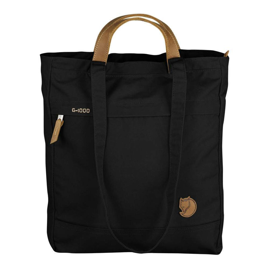 Fjallraven Totepack No. 1 Black - Pict Clothing