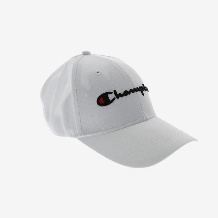 Champion Classic Twill Hat White - Pict Clothing