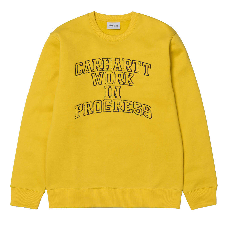Carhartt WIP Division Embroidery Sweatshirt Quince - Pict Clothing