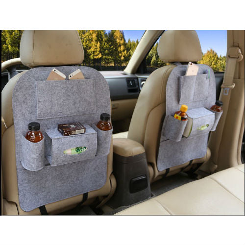 Car Seat Multi Pocket Organiser