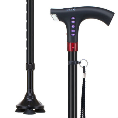 4 Legged (4 in 1) Multi Utility Walking Stick
