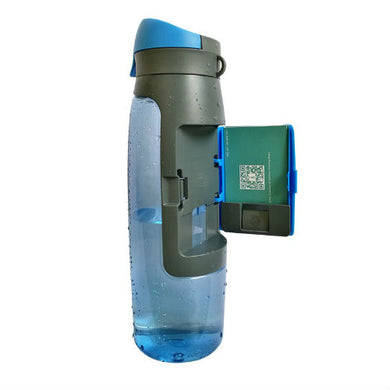 Water Bottle with Built-in-Wallet