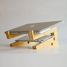 Wooden Foldable Laptop Stand