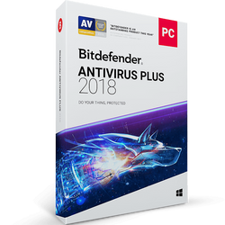 Bitdefender Antivirus Plus - 2-Years / 3-PC