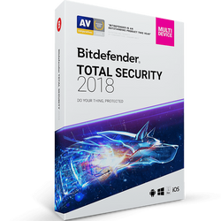 Bitdefender Total Security - 1-Year / 10-Device