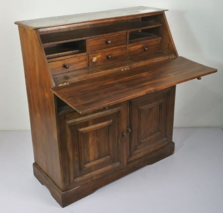 TEAK WOOD FOLDABLE WRITING DESK