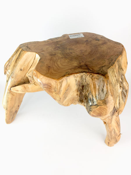 Natural Tree Stump Stool