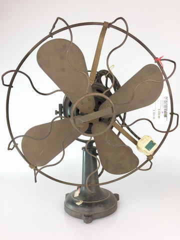 Antique Marelli Desk Fan Made in Italy