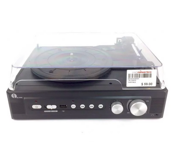 Retro Look 1 by One Turntable