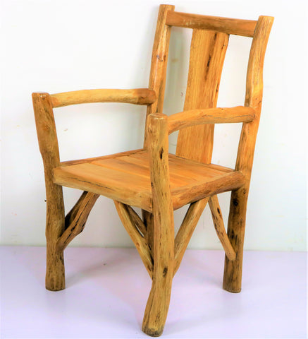 Wood Branch Rustic Armchair
