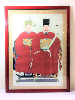 Song Dynasty Chinese Ancestor Large Portrait
