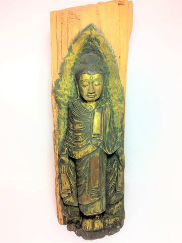 Wooden Buddhist Sculpture