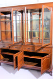 Rosewood Display Cabinet with Drawers