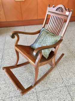 Mid Century Teak Rocking Chair
