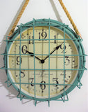 Creative Co-op Home Retro Wall Clock